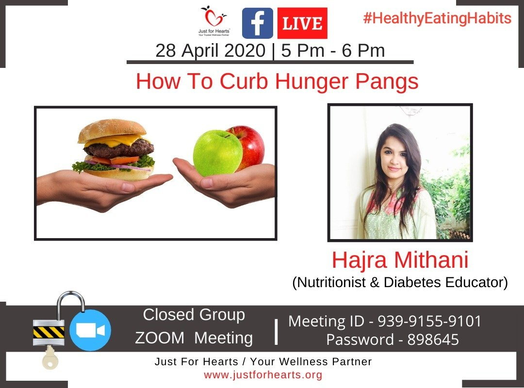 How To Curb Hunger Pangs