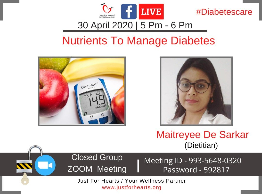 Nutrients to Manage Diabetes