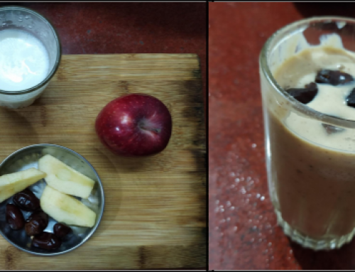 Navratri Special Recipe: Apple banana dates smoothie