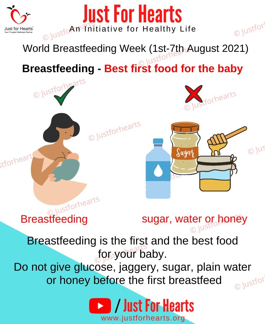 Breast feeding - Best first food for baby